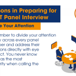 Lessons in Preparing for an IT Panel Interview