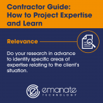 Contractor Guide: How to Project Expertise and Learn