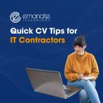 Quick CV Tips for IT Contractors