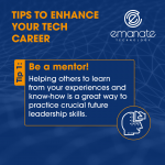 Tips to enhance your tech career: Be a mentor!