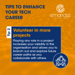 Tips to Enhance your Tech Career: Volunteer in more projects