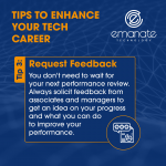 Tips to Enhance your Tech Career: Request Feedback