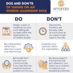 Dos and Don'ts of Taking on an Interim Leadership Role