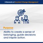 5 Elements of Excellent Change Management